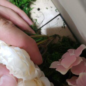 花のさし込み